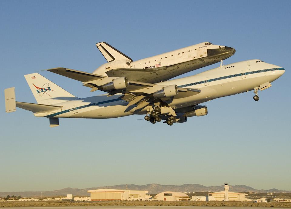 El transbordador espacial Enterprise ahora será museo espacial