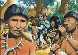 Rodrigo de Jérez y los indígenas fumadores
