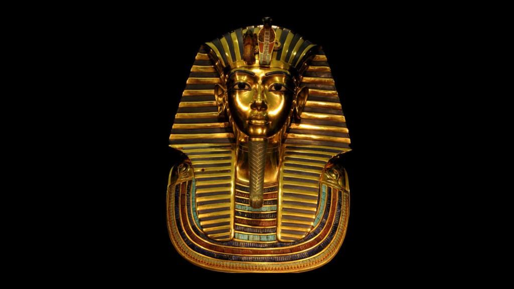 Tutankamón máscara