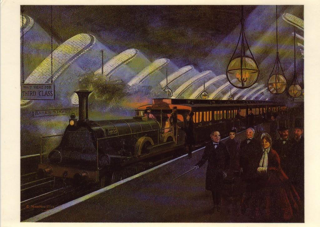 Imagen del Metro de Londres, previo a la inauguración