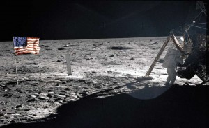 Neil Armstrong en la Luna- NASA