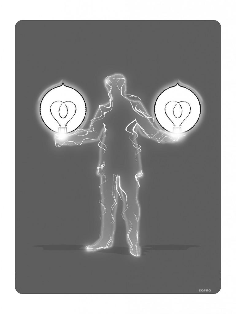 Nikola Tesla y sus rayos y centellas globulares- 3Planos