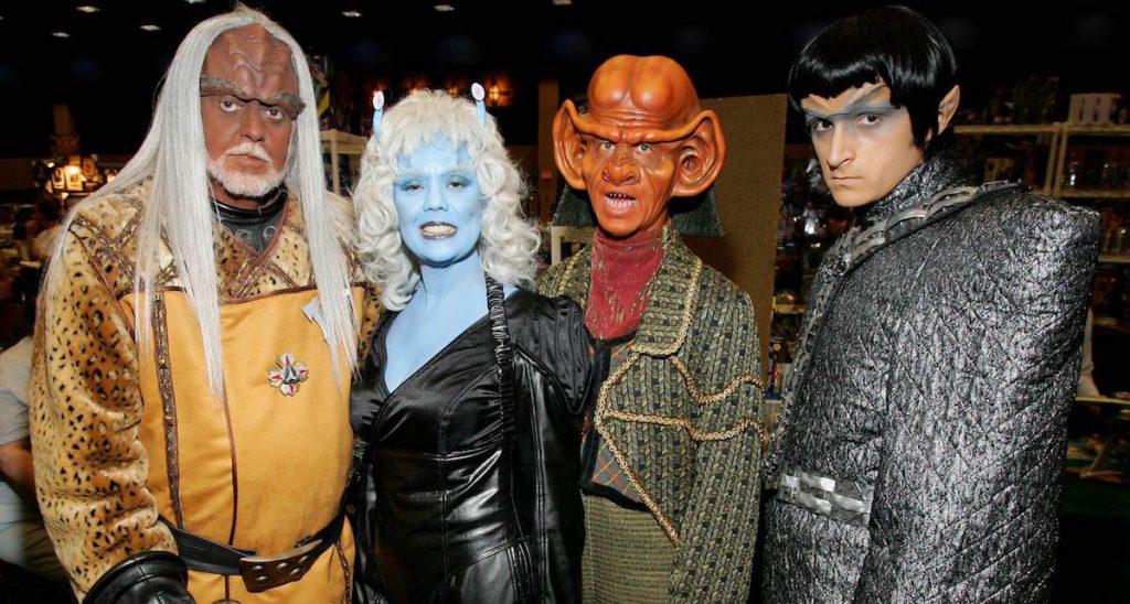 Convencion de personajes de Star Trek