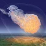 El meteorito de Tunguska, caído el 30 de junio de 1908, el más devastador de la historia contemporánea