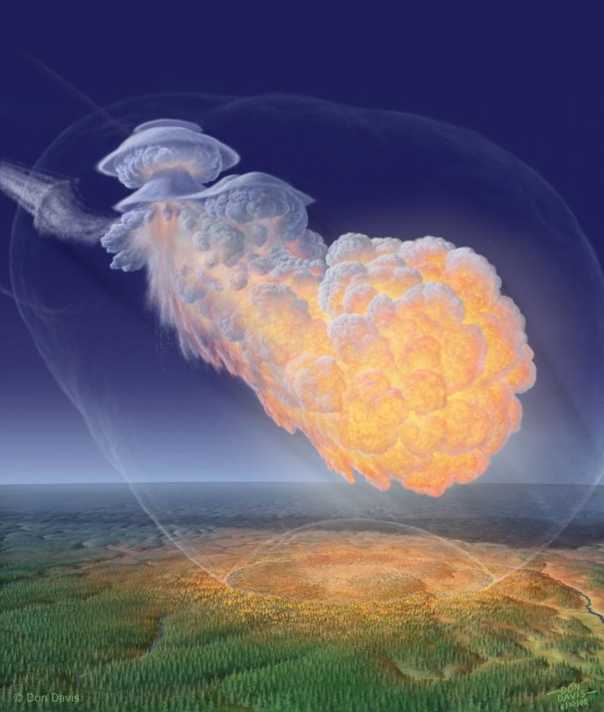 El meteorito de Tunguska- Don Davis