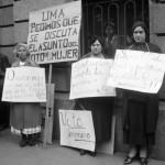 Mitin de mujeres por el voto, INAH Fototeca