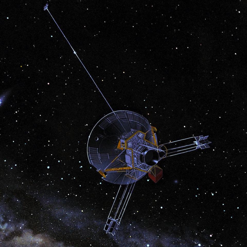 Pioneer 10, la nave que lleva el mensaje de la humanidad al espacio exterior