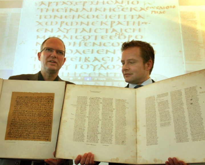 Codex Sinaiticus, Biblioteca Leipzing