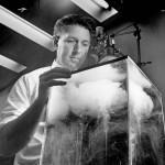 Vincent Joseph Schaefer, la primera lluvia artificial