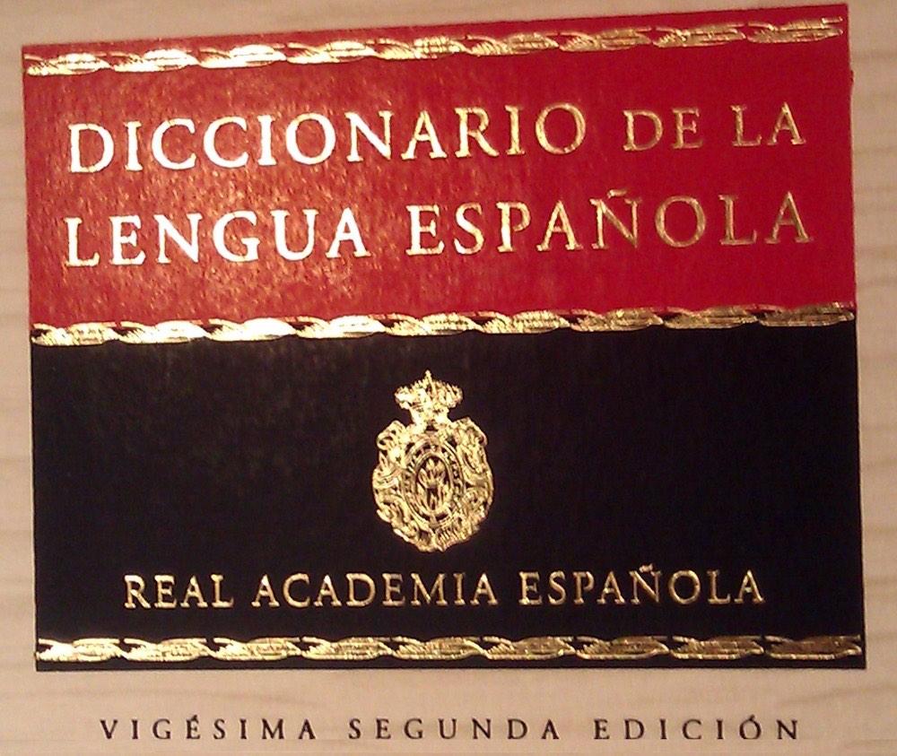Diccionario de la Real Academia Española de la lengua, RAE