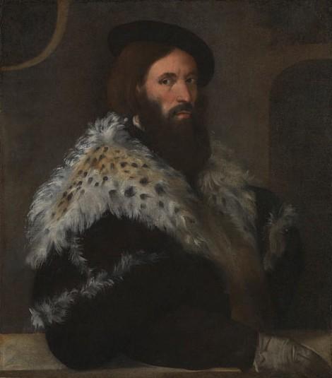 Girolamo Fracastoro, Titian, 1528