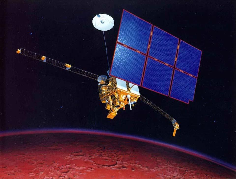 Mars Observer- NASA_JPL