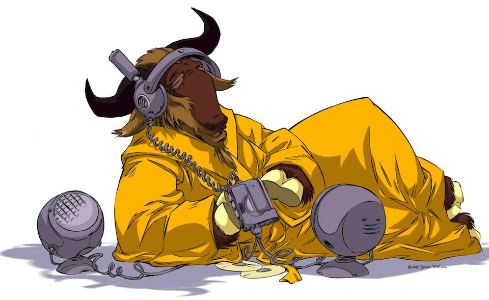 GNU escuchando música, Nevrax Limited