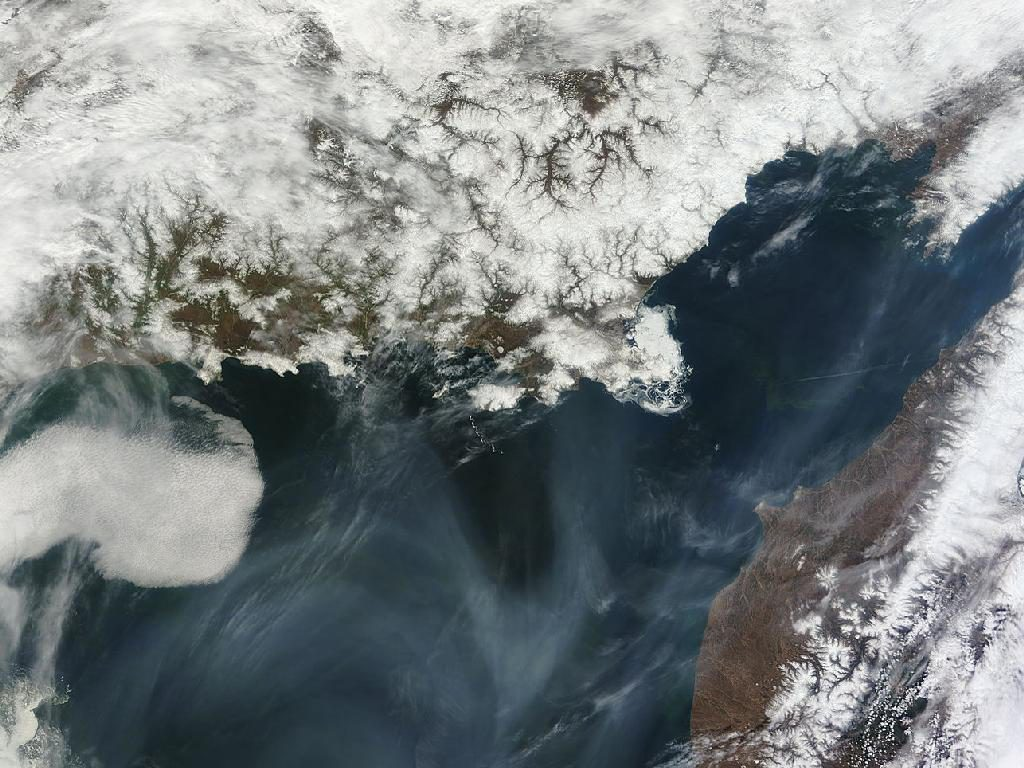 Terremoto del mar de Okhotsk, produjo una grieta de 180 kms