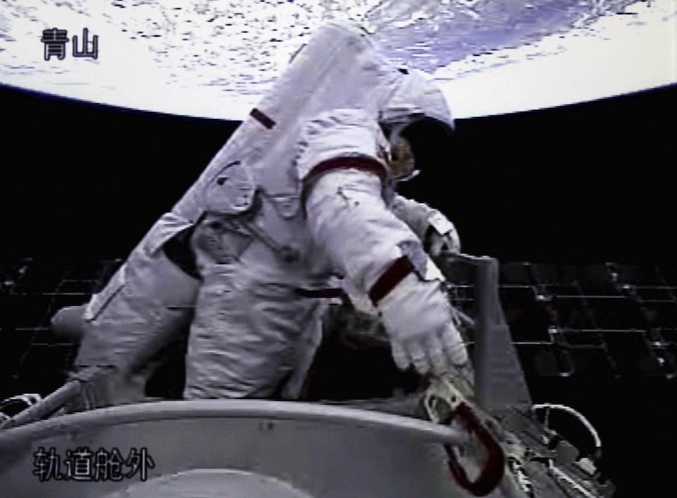 Zhai Zhigang, el primer astronauta chino que paseó por el espacio