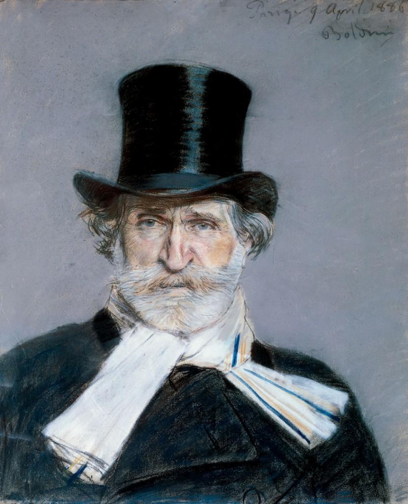Guiseppe Verdi, de Giovanni Boldini, 1866