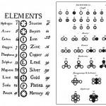 John Dalton y la creación de la tabla de pesos atómicos de los elementos presentada en 1803