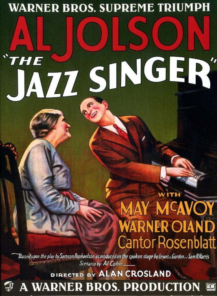 The Jazz Singer, El cantante de Jazz