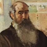 Camille Pissarro, uno de los fundadores de la pintura impresionista, junto con Monet y Degas, entre otros