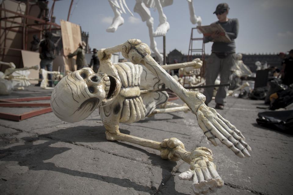 Calavera de Día de Muertos- Alejandro Ayala, Xinhua (archivo)