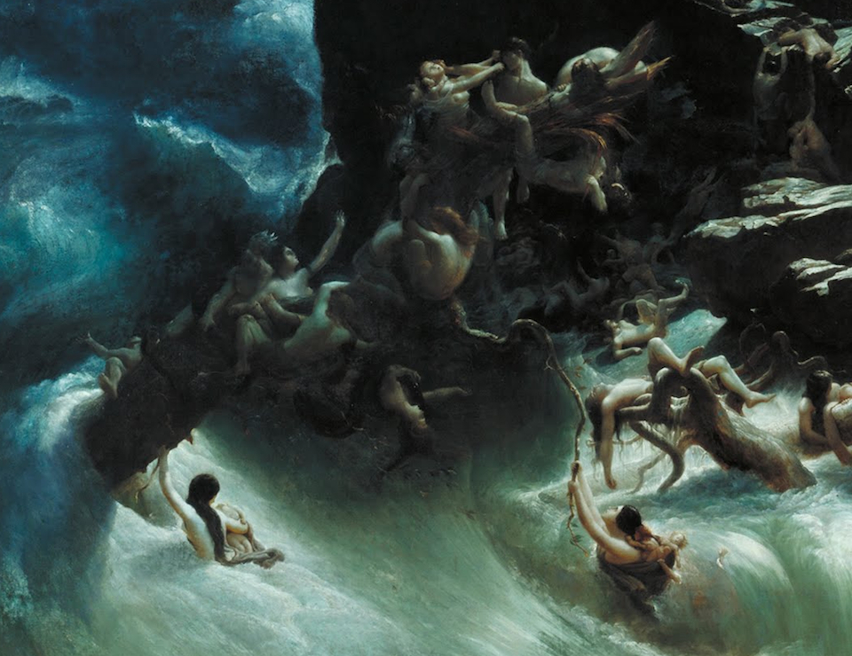 El Diluvio, Francis Danby, 1840- Tate Britain