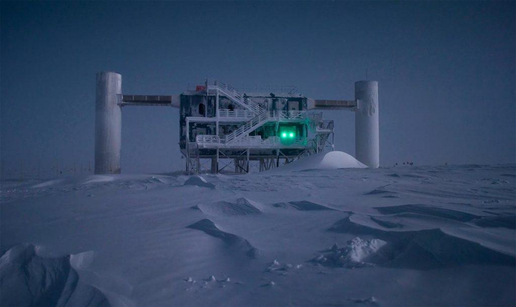 IceCube, el detector de neutrinos cosmicos