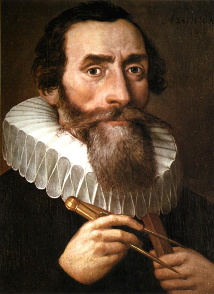 Johannes Kepler, autor desconocido, 1610