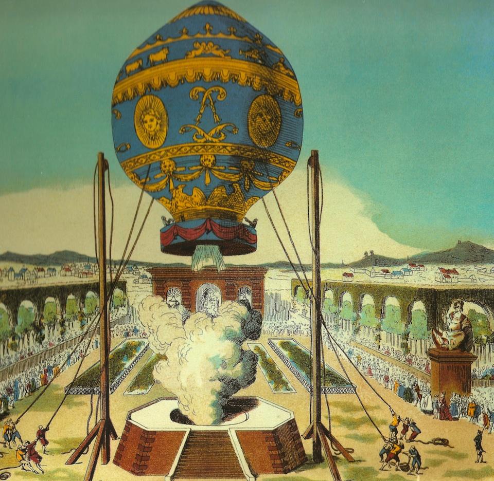 21 de noviembre de 1783: El Primer vuelo del hombre