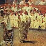 Marco Tulio Cicerón fue el más grande orador del Imperio Romano, creador de la la retórica ciceroniana