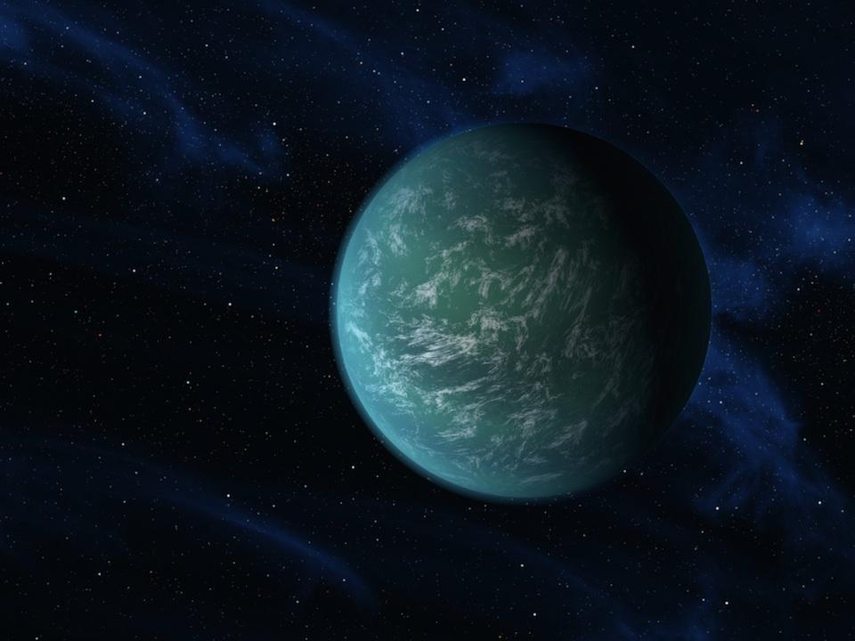Kepler 22b- NASA/Ames/JPL-Caltech