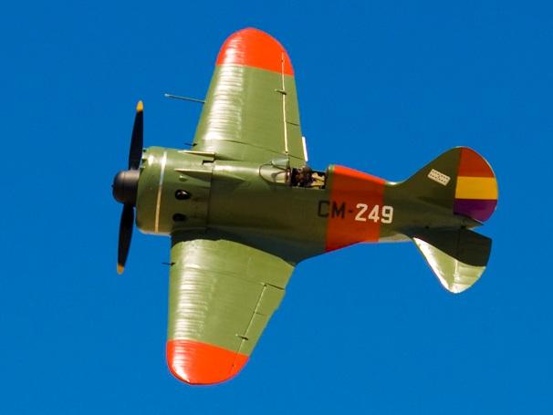TSKB- 12 Polikarpov I-16 en España