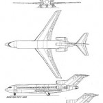 Boeing 727 3 vistas