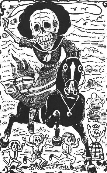 Calavera de la Adelita, José Guadalupe Posada