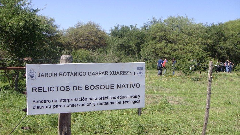 Jardín Botánico Gaspar Xuárez, Universidad Católica de Córdoba, Argentina