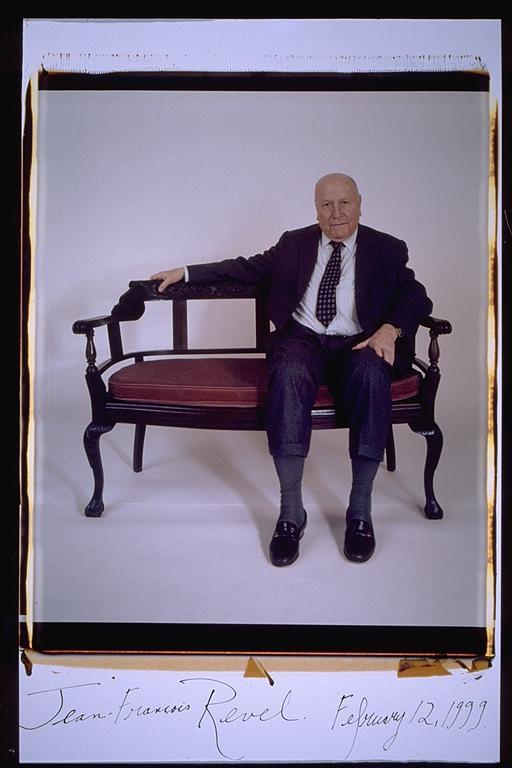 Jean Francois Revel- Elsa Dorfman, 1999