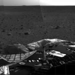 El Spirit, el primer vehículo terrestre de larga duración en Marte; más de 6 años de vida útil