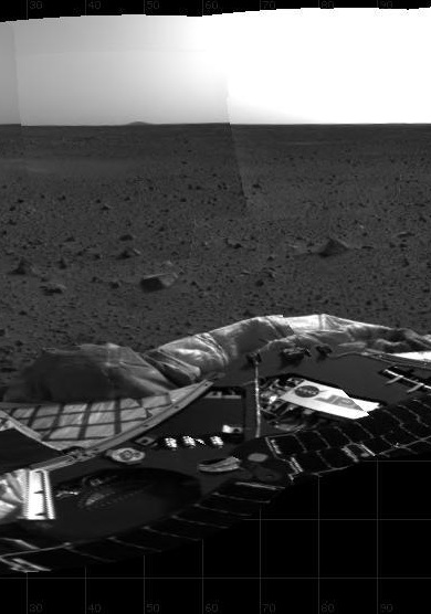 Primera fotografiía del Spirit en Marte- NASA/JPL/Caltech