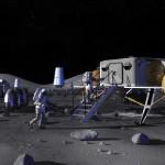 El 14 de enero de 2004 George Bush anunció al mundo que EEUU tendría una base lunar en el 2014