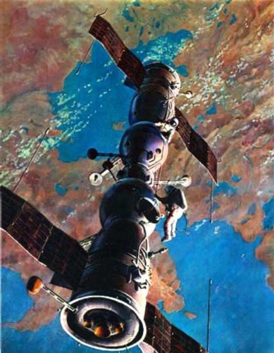 Soyuz 4 y 5 acoplamiento