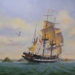 """El """"Beagle"""", el barco en el que viajó Darwin, es localizado en el fondo de un río en 2004"""