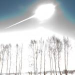 El brillo del asteroide Chelyabinsk- M Ahmetvaleev