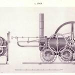 La locomotora de Trevithick, Science Museum