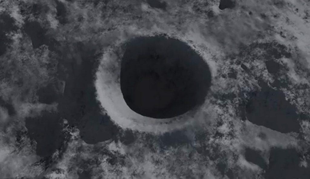 Cráter formado en la Luna por el mayor impacto observdo de una gran roca contra el satélite- IAA(CSIC)-UHU