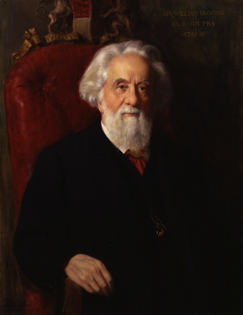 Sir William Huggins, John Collier- National Portrait Gallery, Londres