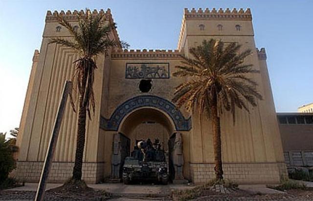 23 de febrero de 2009: Reapertura parcial del Museo de Irak después del saqueo sufrido en 2003 durante la guerra