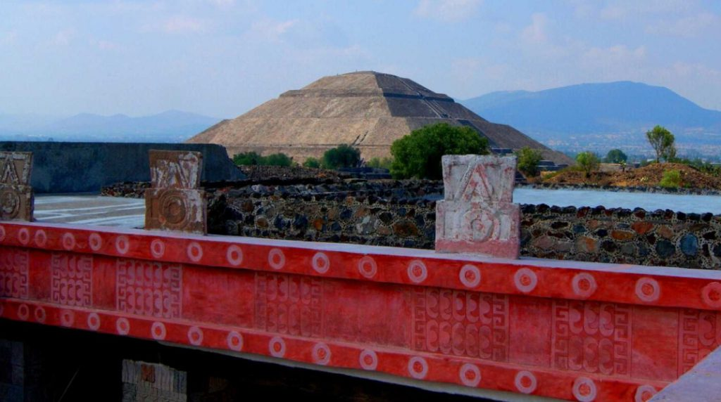 Teotihuacán, el primer sitio arqueológico de América. Abierto desde el 13 de septiembre de 1910