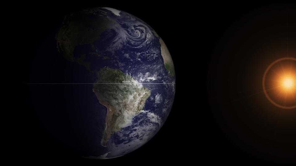 Equinoccio de marzo- Imagen NOAA