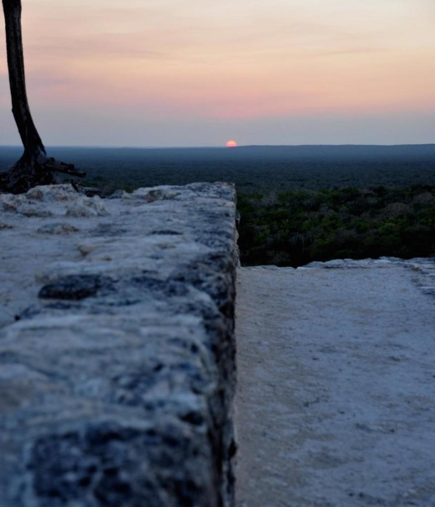 Estructura 2, zona arqueológica de Calakmul, Campeche, México- Ivan Sprajc