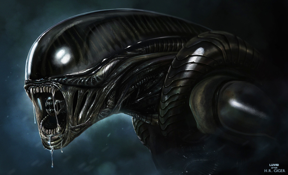Alien el octavo pasajero- H. R. Giger
