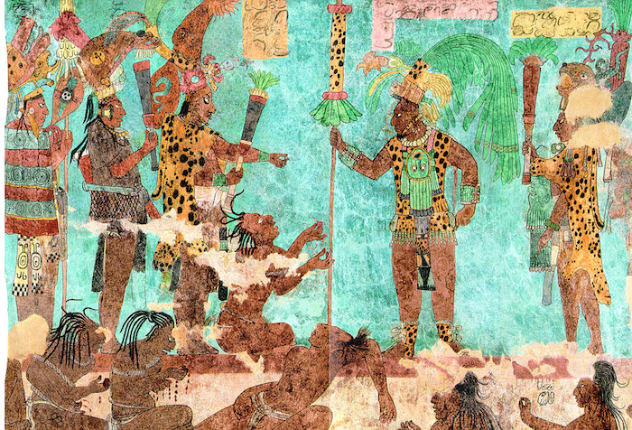 Fundación de la Liga de Mayapán, para defenderse de las invasiones